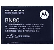 Batería del reemplazo 1380mah para Motorola BN80 voltereta hacia atrás at & t snn5851a