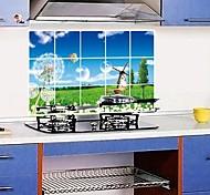Doudouwo ® Ботанический Одуванчик Анти-Нефть стены стикеры