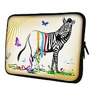 Elonno Falter-und Zebra Neopren-Laptop-Hülsen-Kasten-Beutel-Beutel-Abdeckung für 15'' MacBook Pro Retina Dell HP Acer