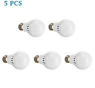 5 pcs E26/E27 10 W 25 SMD 2835 980 LM Warm White Globe Bulbs AC 85-265 V