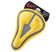 CHAUNTS 3D Double Thickening Memory Sponge Hollow Triangle Yellow Bicycle Saddle Seat Cover