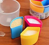 Multiduty columniform plástico em forma de Condimento Dispenser (Random Colorx1pcs)