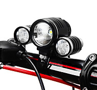 KUTOOK T6 Cree 900 Lumens 6061 Al Alloy Bright Bicycle Headlamp - One Lamp