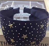 Lureme®Fashion flannelette Star Headband(Assorted Color)