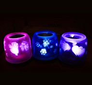Coway Projection Candle Electronic Voice LED Night Light(Random Color)