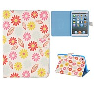 Pretty Flowers And Leaves Case for iPad mini 3, iPad mini 2, iPad mini