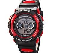 Children Multifunction LED Digital Sports Wrist Watch 50m Waterproof (Assorted Colors)