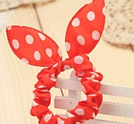 Rabbit Ears Elastic Hair Bands Hair Ties