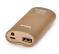 GIZGA 5200mAh Portable External Battery Power Bank Charger for IPhone 4 4s 5 5s Samsungs3 s4 s5