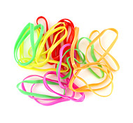 Loom Bands Big Size Multicolor Rubber Band D For Kids (25 pcs)