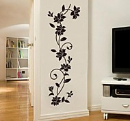 Wall Stickers JiuBai™ Flower Vine Wall Sticker Wall Decal