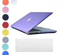 Translucent Design PC Hard Case with Keyboard Cover Skin for MacBook Retina(Assorted Colors)