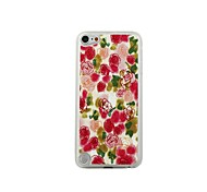 Rose Leather Vein Pattern PC Hard Case for iPod touch 5