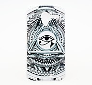 Kinston The Sun God's Eye Pattern Plastic Hard Case for Motorala Moto X