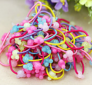 50Pcs/Pack of Cute Hair Rubber Bands For Kids(Random Color)