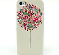 Per Custodia iPhone 5 Fantasia/disegno Custodia Custodia posteriore Custodia Palloncini Resistente PC iPhone SE/5s/5