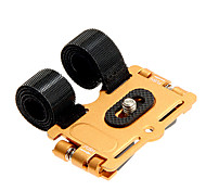 metais bicicleta titular fotográfico&fita adesiva&interruptor Scart para GoPro (roxo, ouro, preto, azul)