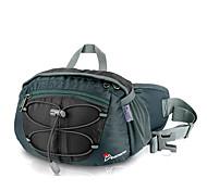 MOUNTAINTOP 8L Terylene Black Outdoor Breathbale Cycling Waist Bag Chest Bag