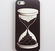 Nachtdesign Sand Glasmuster Aluminium Hard Case für iPhone 5/5s