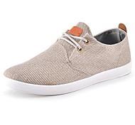 meroketty ® de moda los zapatos de lona clásicos de los hombres de las zapatillas de deporte (marrón)
