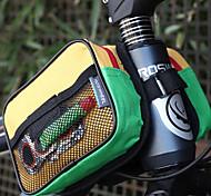 KINGSIR 600D PVC Colorful Multi-Functional Bicycle Frame Bag
