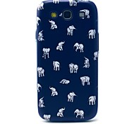 Indian Elephant Pattern Hard Case Cover for Samsung Galaxy S3 I9300