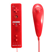 2-in-1 MotionPlus Remote Controller and Nunchuk for Wii/Wii U Free Shipping