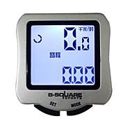 B-QUADRADO Ciclismo Mini Waterproof Calorias Preto Computer Odômetro Velocímetro