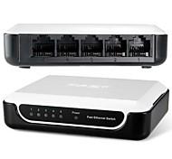 FS05 5 puertos 10 / 100m conmutador Fast Ethernet auto-adaptativa