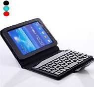 Bluetooth V3.0 Keyboard Protective Leather Case Cover with Stand for Galaxy Tab3 Lite 7'' T110/T111