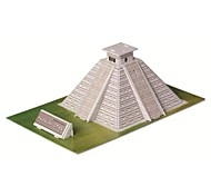 Educational Toys Magic Puzzle Maya Pyramid Egypt Model 3D Puzzle for Children and Adult Jigsaw Puzzle(19PCS)