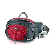 MOUNTAINTOP 8L Terylene Red Outdoor Breathbale Cycling Waist Bag Chest Bag