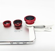 Universal Wide Angle and Macro and Fisheye Clip Lens