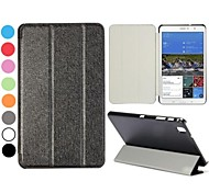 Silk Pattern Leather Luxury Stand Case for Samsung Galaxy Tab Pro 8.4 T320(Assorted Colors)