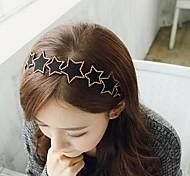 Leather Rivet Star Pentagram Headbands