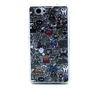 Special Design Cartoon Pattern TPU Soft Case for Sony Xperia Z1 Compact Z1 Mini D5503