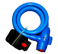 IFire High Quality Steel PVC+ABS Blue Bike Bicycle Lock