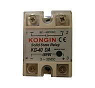 KONGIN KG-40DA 90-480VAC Relé de Estado Sólido