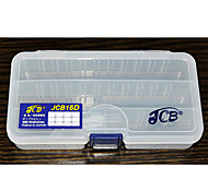 JCB16D Triple-Layer Lure Box Tackle Box (16.1*9.1*3.3cm)