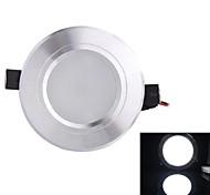 белый свет Светодиодная лампа потолка (мужчины и женщины плагин) белый 930lm AC85-265V 9w