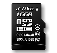 16GB J-like Class 4 MicroSDHC TF Memory Card