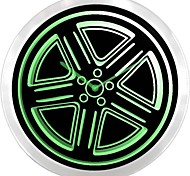 Rad-Reifen-Sportwagen-Leuchtreklame LED Wanduhr