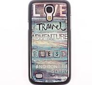 Live Travel Design Aluminium Hard Case for Samsung Galaxy S4 mini I9190