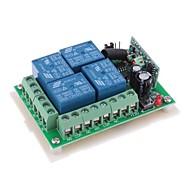12V 4-Kanal Wireless Remote Power Relay-Modul (DC28V-AC250V)