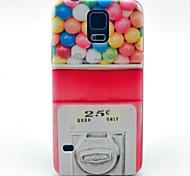 Süßigkeiten Maschine Muster harte Fallabdeckung für Samsung Galaxy i9600 s5