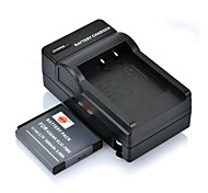 DSTE 3.7V 1600mAh Batería KLIC-7004 + DC30Charger para cámara Kodak V1253 V1073 M1033