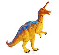 сборка tsintaosaurus динозавр модель резиновые фигуры образовательных действий игрушка (синий)