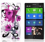 Caso Fiore modello gommata posteriore duro per Nokia X X +