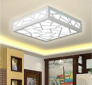 12 Flush Mount ,  Modern/Contemporary / Traditional/Classic Painting Feature for LED Wood/BambooLiving Room / Bedroom / Dining Room /