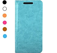 Crazy Horse Texture New Arrived Folio Style Flip Stand Leather Case for HTC One M8 Mini(Assorted Colors)